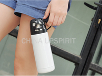 High quality 350ml double wall travel mug water bottle carrier
