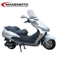 Hot Sale 250cc 4stroke Gas Motor Scooter with 12V 9AH Battery