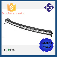 2015 New Factory wholesale price! 240w 50inch jeep,boat led light bar IP68, CE, RoHS