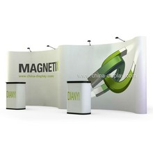 Magnetic pop up display stand for trade show, car show, promotional events