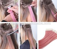 virgin curl brazilian unprocessed skin weft seamless hair extensions