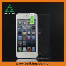 Ultra Clear 0.33mm 9H Tempered Glass Screen Protector For iPhone 5, for iPhone 5 Tempered Glass Screen Protector