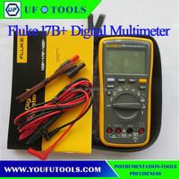 FLUKE 17B+ Digital multimeter Tester DMM with TL75 test leads !!NEW!! F17B+