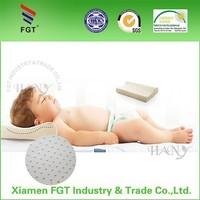 2015 HANY Alibaba china supplier 100% Natural Latex Baby Contour Pillow