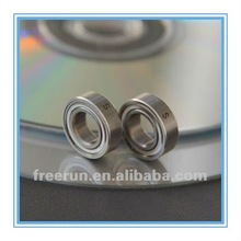 High performance and low friction shower door bearing