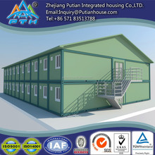 Two floors prefabricated house