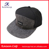OEM/ODM Custom Hat Snapback /Leather Patch Custom Hat/Wool Blend and SuedeSnapback Hat Wholesale