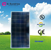Professional design poly photovoltaic best 12v 100w solar panel price