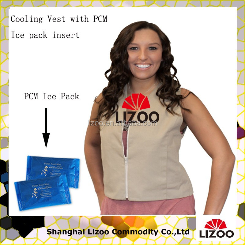 Self Cooling Ice Pack Vest With Self Cooling Material As