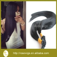 New Human Hair Flat Tip 100g Natural Keratin Prebonded Flat Tip Hair Extension 100s/bag Handmade Fusion Hair Extensions