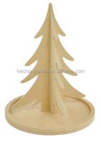 fancy indoor wooden christmas tree decoration