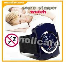 2015 new Drug Free bed Sleep Watch style sleep apnea aid Snore Stop
