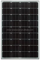 Transparent solar panel high absorption 60w mono pv solar module