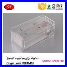 Transparent box mod acrylic,electronic project enclosures