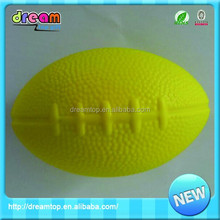 The best sell yellow pu cheap mini rugby balls