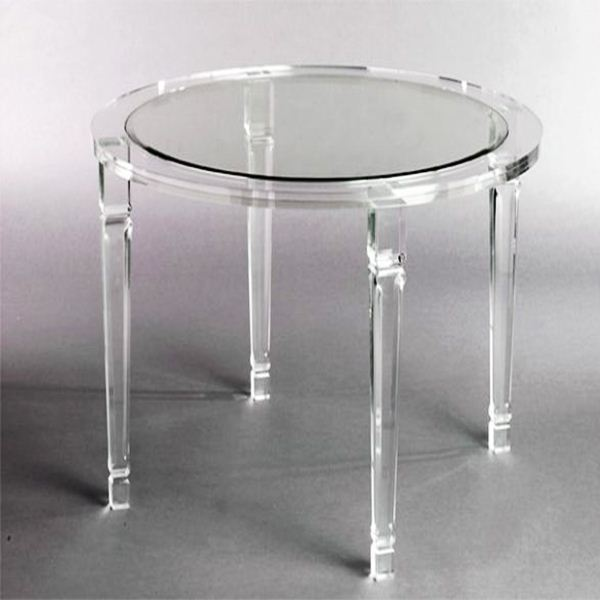 Beautiful Small Round New Clear Acrylic Chair Buy