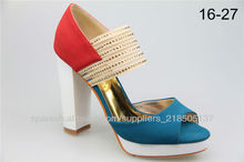 2014 fashion woman shoes woman dress shoes lady party shoes