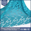 Pakistani Dress Materials French Chemical Lace Fabric For Wedding Dress/ Leaf Design Teal Blue Cord Lace with stones 2016