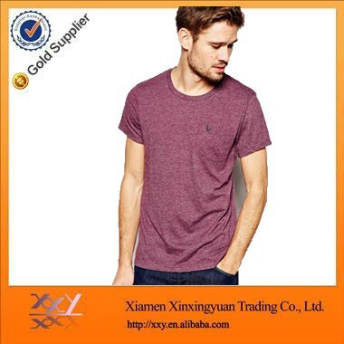 Solid Color Blank T Shirts Manufacturers China T Shirt Man