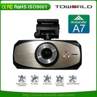 WiFi Mini Dash Cam 1296 x 2304 Super HD 170 Degree Wide Angle with GPS APP Cloud Data