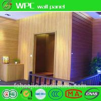 Wooden floor photographic reflective panel
