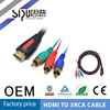 SIPU high speed hdmi cable converter to rca cable wholesale