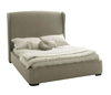 European style double fabric bed for 2 person