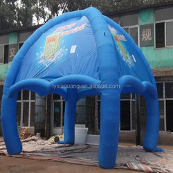 Popular durable inflatable tent camping/large square inflatable tent for exhibition