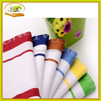 kitchen textile plain white cotton tea towel wholesale