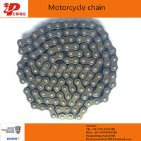 super power motorcycle spare parts price 428H roller chain and sprocket sets