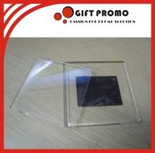 High Quality Clear Acrylic Fridge Magnet