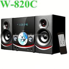 Canales audio multimedia lcd mini dvd combo con USB / SD / FM función