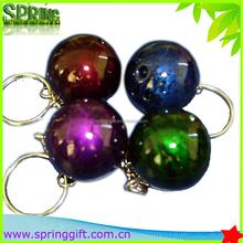 Latest bowling gift paint color bowling ball key chain,bowling equipment key chain
