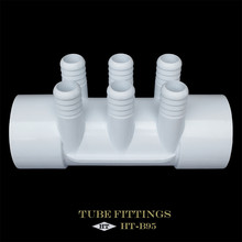No Deformation Pipe 100 Degrees Celsius Temperature Pvc Pipe Fitting