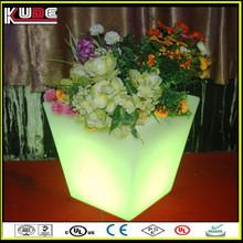 LED Furniture Factory Supply LED Flower Pot/LED Lighted Planter Pot For Outdoor Event Decoration