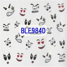 Facial Expression Design Cartoon Cute 3D Nail Stickers