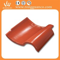 Clay matt finish roofing tile Y92