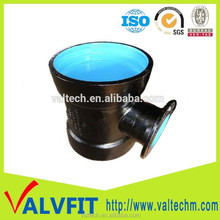 Ductile Iron Double Socket Tee With Flange Branch