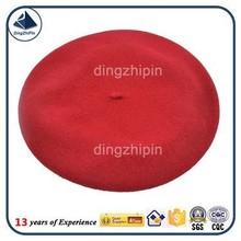 Personalizar soldado vermelho boina de malha boina militar