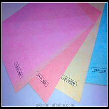 2015-15 colors plain print embossed goffered paper/tree barks paper for book binding&cover