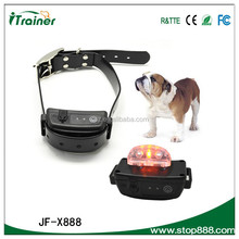 low price low MOQ designer pet products JF-X888 bark stop for training pet dogs