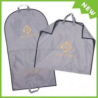 pvc floral garment bag, bulk wholesale suit cover, ziplock garment bag design