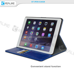 stand function leather case for apple ipad air 2 32gb sleep and wake up