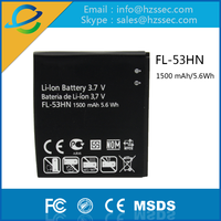 china wholesales rechargeable high capacity gb t18287 lithium battery for lg FL 53HN