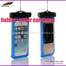 [Somostel] Three in One Waterproof phone Bag case with waterproof earphone and holder