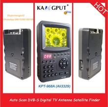 KPT-968A Top-Selling DVB-S Digital Satellite Finder Signal Meter,TV antenna sat finder