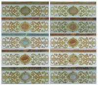 Marble look 10x30cm small size listello border tile, decorative border tile,ceramic border tile kitchen