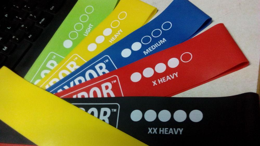 loop resistance band color