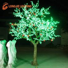 Decoración al aire libre la gran manzana de iluminación del árbol con transformador/led de árboles frutales