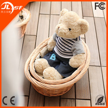 China Cheap Traditional Handwork Eco-friendly Wicker Cat and Dog Bed for Sale